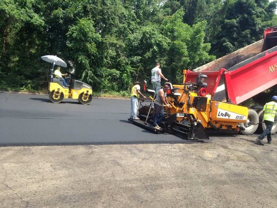 Commercial Paving Company in NJ - Bergen County Asphalt Paving Contractor Frank A Macchione operating as Paving Plus